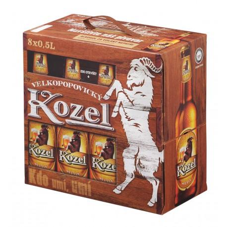Velkopopovický Kozel Pale (8 x 0,5 l bottled)