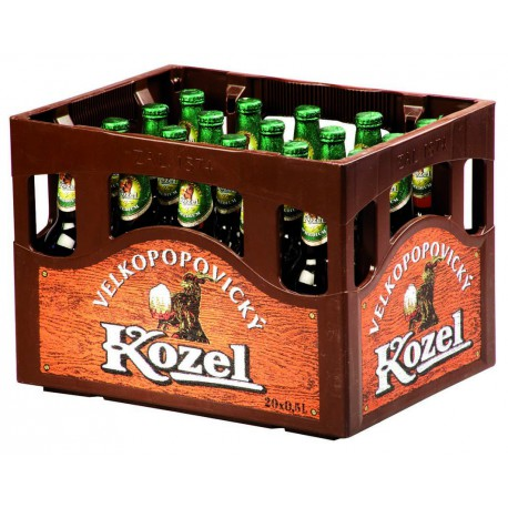 Velkopopovický Kozel 11 (20 x 0,5 l bottled)