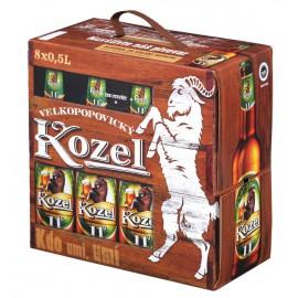 Velkopopovický Kozel 11 (8 x 0,5 l lahvové)