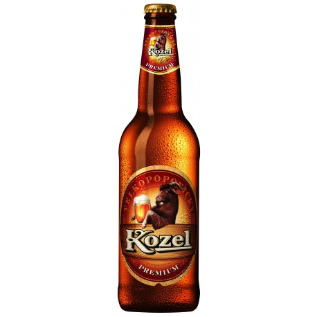 Velkopopovický Kozel Premium (20 x 0,5 l lahvové)