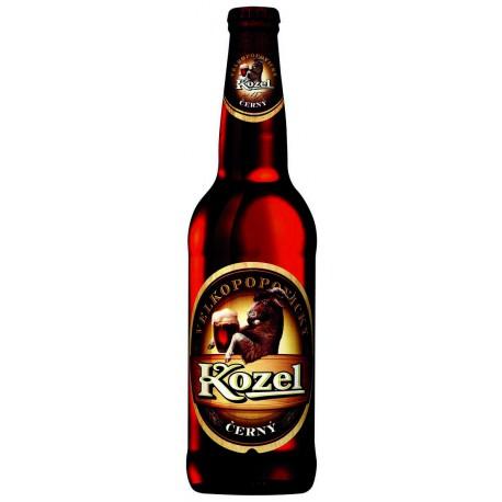 Velkopopovický Kozel černý (20 x 0,5 l lahvové)