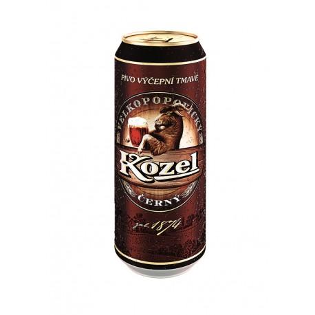 Velkopopovický Kozel černý (24 x 0,5 l plechovkové)