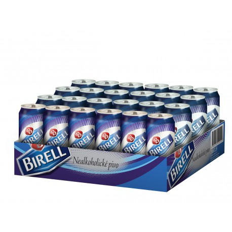 Birell (24 x 0,5 l plechovkové)