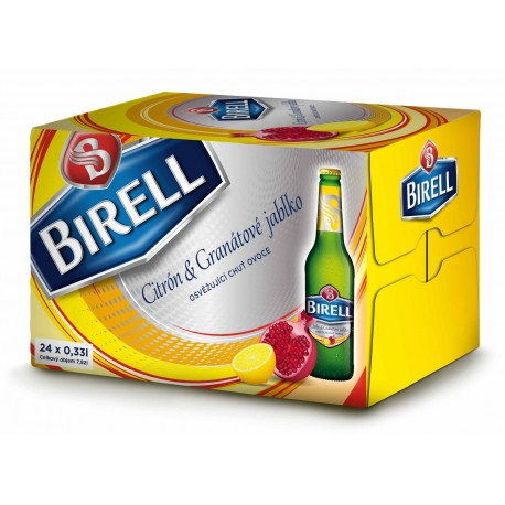 Birell Lemon & Pomegranate (24 x 0,33 l bottled)