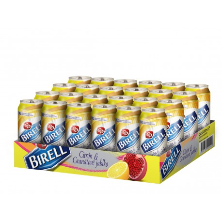 Birell Lemon & Pomegranate (24 x 0,5 l canned)