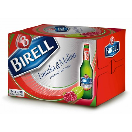Birell Lime & Raspberry (24 x 0,33 l bottled)