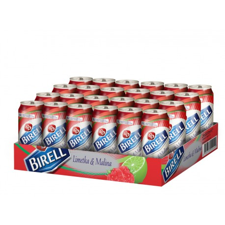 Birell Lime & Raspberry (24 x 0,5 l canned)
