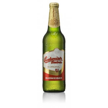 Budweiser Budvar B:Original (24 x 0,33 bottled)