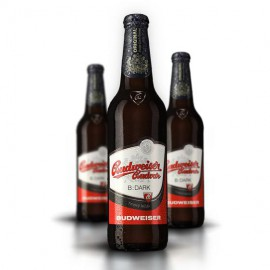 Budweiser Budvar B:Dark (20 x 0,5 l lahvové)