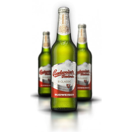 Budweiser Budvar B:Classic (20 x 0,5 l lahvové)