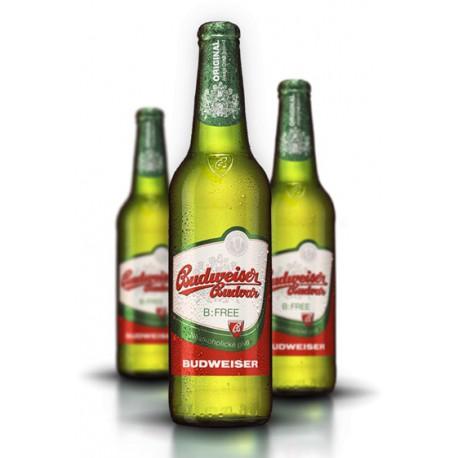 Budweiser Budvar B:Free (20 x 0,5 l bottiglia)