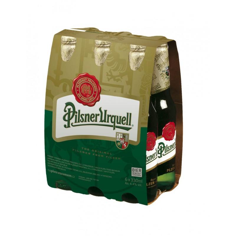 16902b5dc45c24 Pilsner Urquell (4 x 0.33 l bottled) - Bohemia Beer Commerce