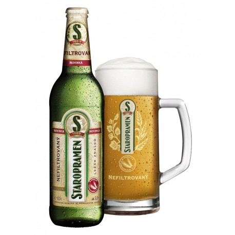 Staropramen Unfiltered (20 x 0,5 l bottled)