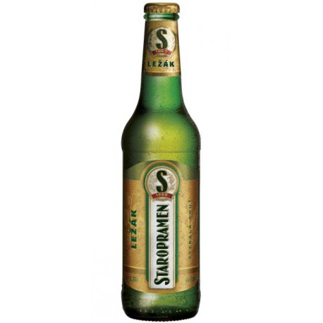 Staropramen Lager (24 x 0,33 l bottled)