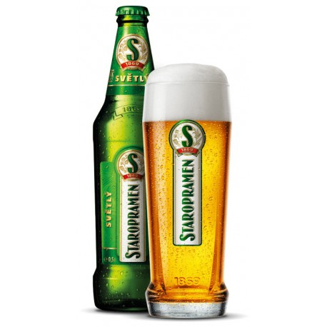 Staropramen Pale (20 x 0,5 l bottled)