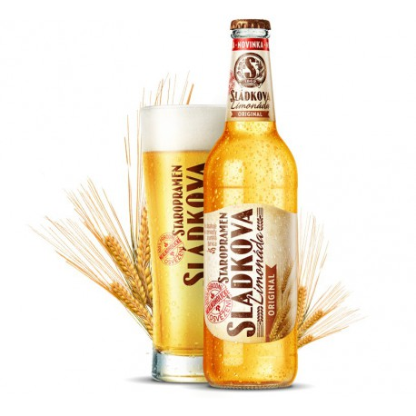 Staropramen Brewers´ lemonade Original (20 x 0,5 l bottled)