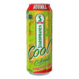 Staropramen Cool Cidermix (24 x 0.5 l plechovkové)