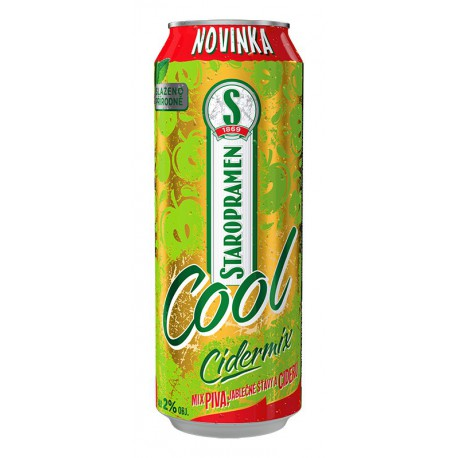 Staropramen Cool Cidermix (24 x 0,5 l canned)
