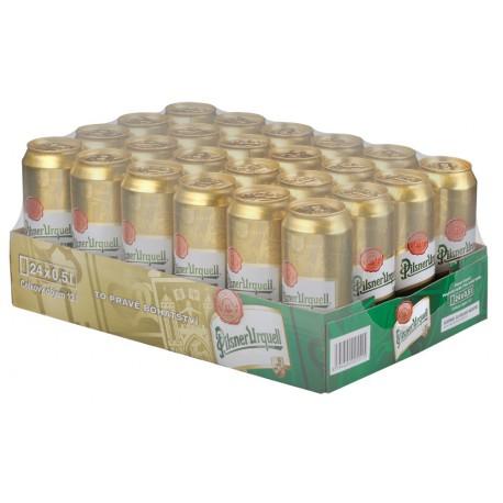 Plzeňský prazdroj (24 x 0,5 l canned)