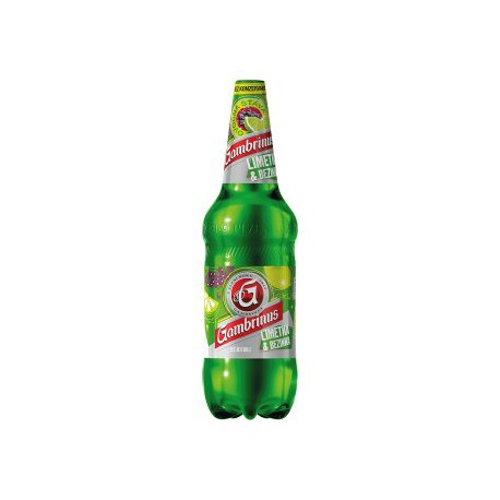 Gambrinus Lime & Elderberry (6 x 0,5 l PET)
