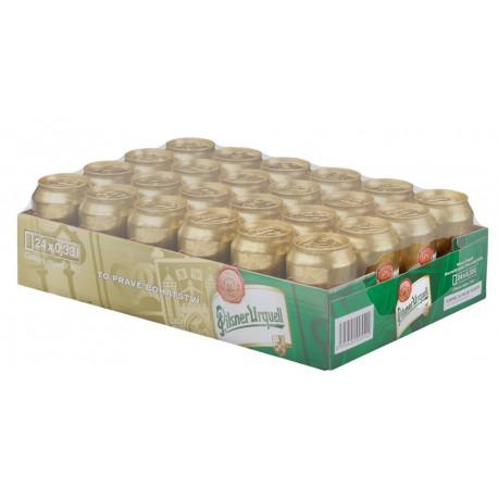 Plzeňský prazdroj (24 x 0,33 l canned)
