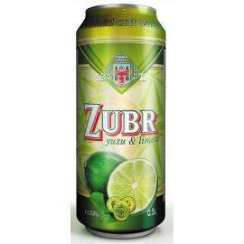 Zubr yuzu & limeta (24 x 0,5 l plechovkové)
