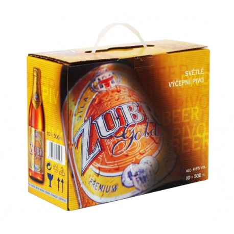 Zubr Gold (10 x 0,5 l bottled)