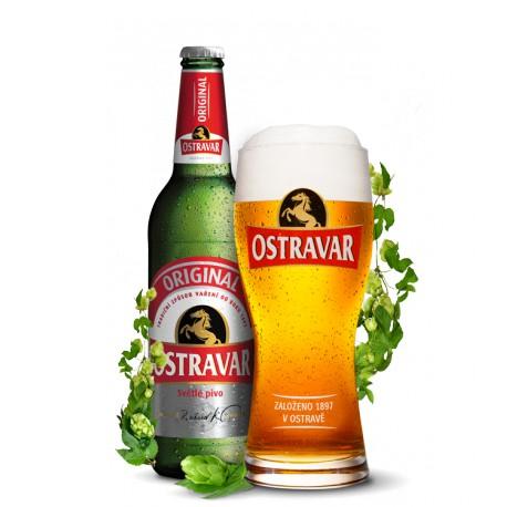 Ostravar Originál (20 x 0,5 l lahvové)