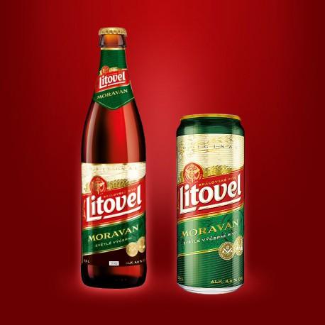 Litovel Moravan (20 x 0,5 l bottled)