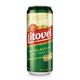 Litovel Moravan (8 x 0,5 l lahvové)