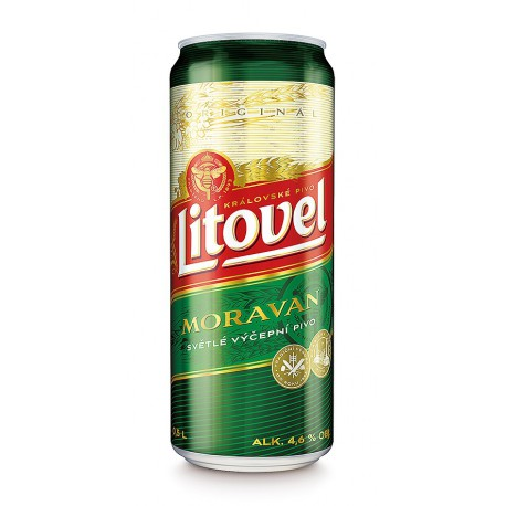 Litovel Moravan (8 x 0,5 l bottled)