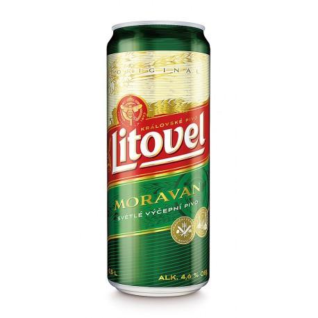 Litovel Moravan (8 x 0,5 l bottled)