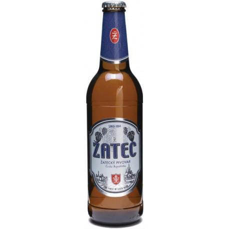 Žatec Blue Label (24 x 0,33 l bottled)