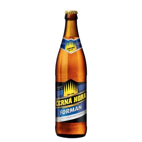 Černá Hora Forman Pale (20 x 0,5 l bottled)