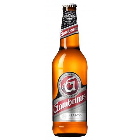 Gambrinus Dry (20 x 0,5 l bottled)