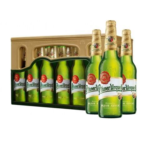 Pilsner Urquell (24 x 0,33 l bottled)
