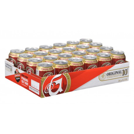 Gambrinus Original 10 (24 x 0,33 l canned)
